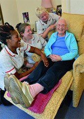 Oxfordshire care homes